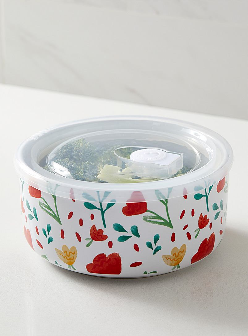 Ladelle Assorted Cut flower microwave bowl