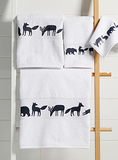 Animal parade towels
