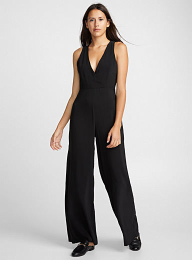 Open-back jumpsuit