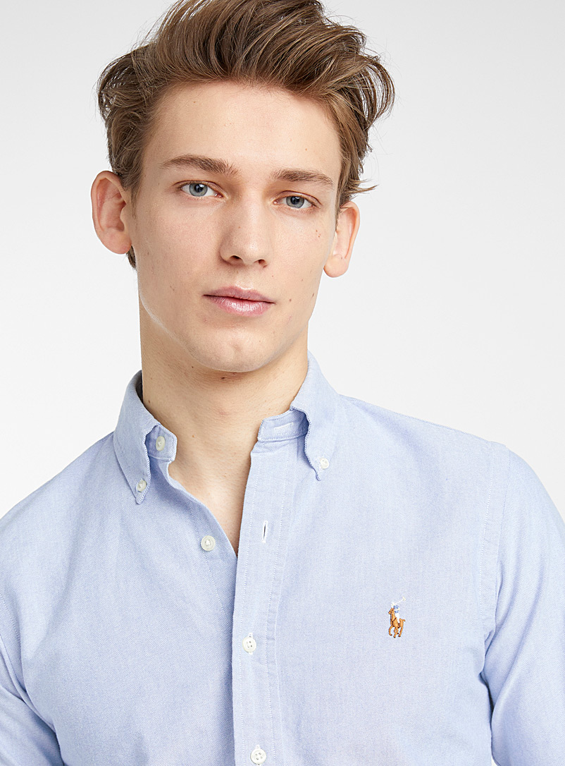 Polo Ralph Lauren White Polo oxford shirt  Modern fit for men