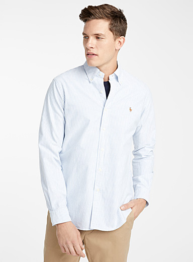 Polo oxford shirt <br>Modern fit