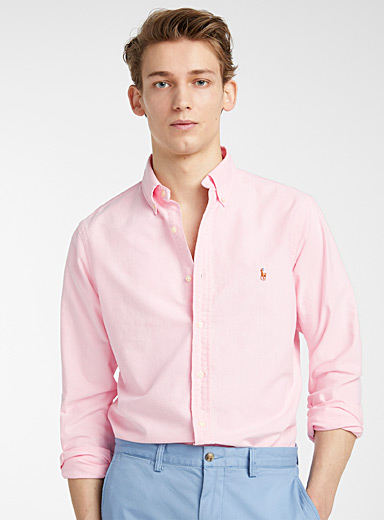 Polo oxford shirt  Modern fit