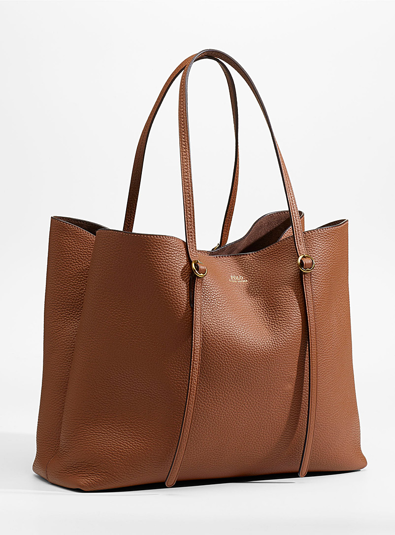 Polo Ralph Lauren Brown Lennox tote for women