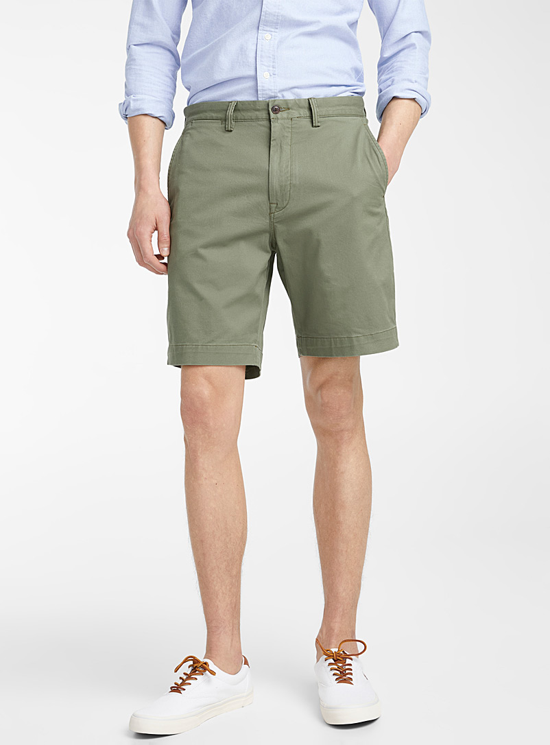 Polo Ralph Lauren Mossy Green Chino Bermudas for men