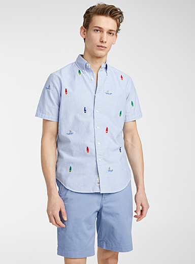 High sea oxford shirt
