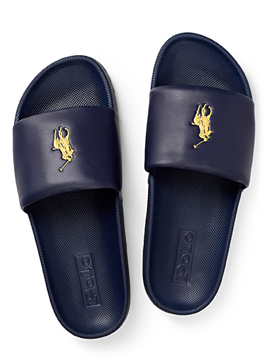 Polo logo slides  Men