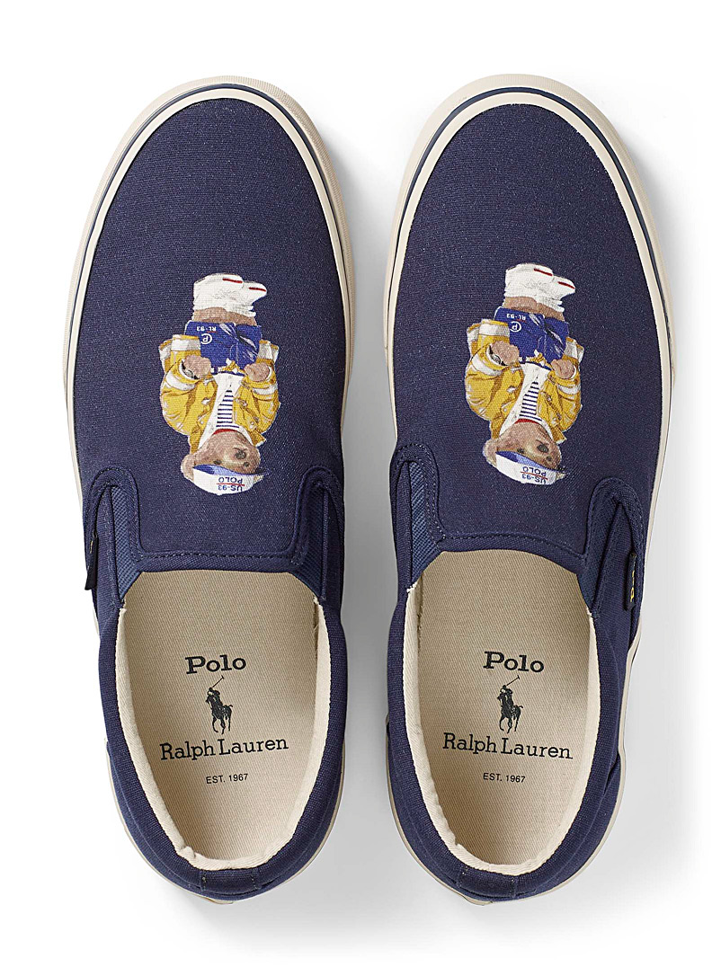 Polo Ralph Lauren: Le slip-on Thompson ourson matelot  Homme Marine pour homme