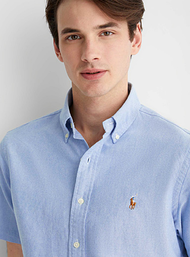 Polo short-sleeve Oxford shirt Comfort fit