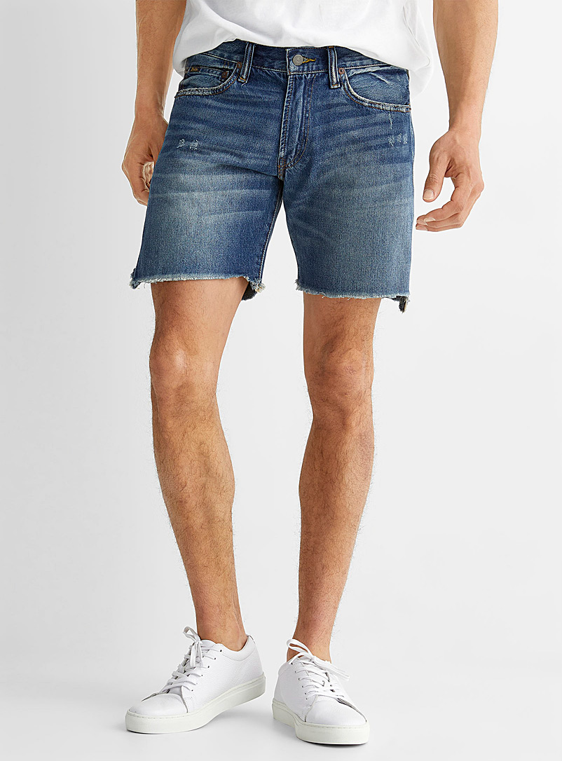 Polo Ralph Lauren Blue Sullivan denim short for men