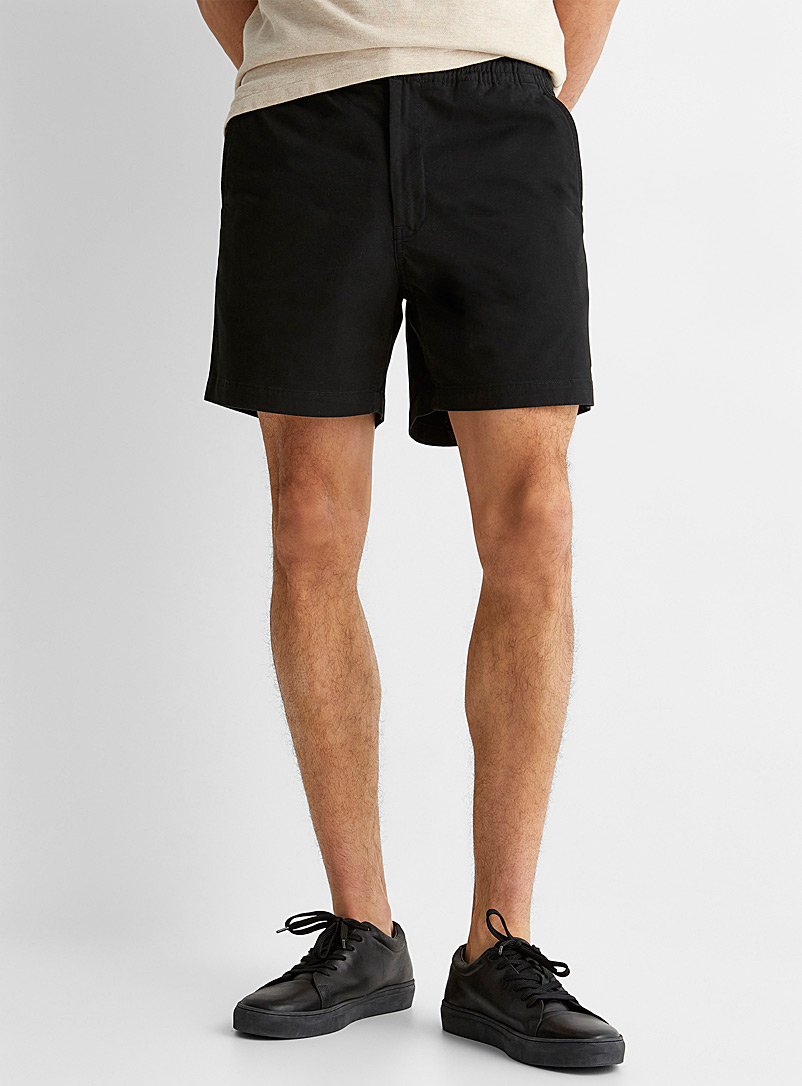 Polo Ralph Lauren Black Comfort-waist chino short for men
