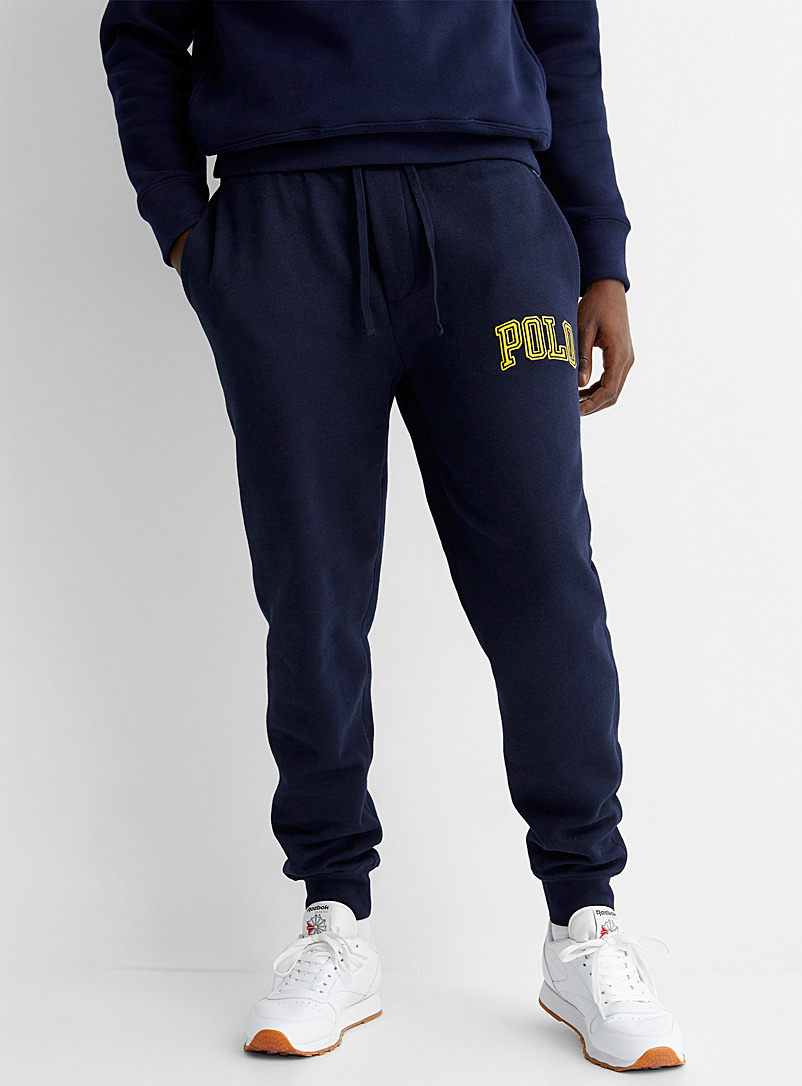 Polo Ralph Lauren Marine Blue Varsity logo sweatpant for men