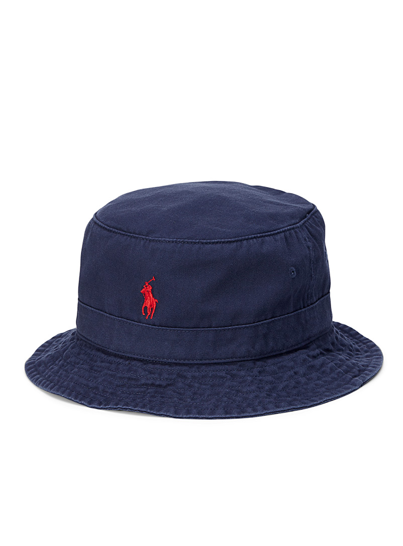 Polo Ralph Lauren Marine Blue Polo bucket hat for men