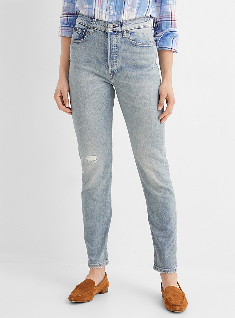 Polo Ralph Lauren Blue Callen high-rise skinny jean for women