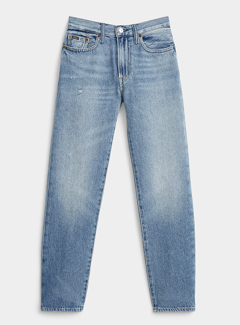 Polo Ralph Lauren Blue Avery faded boyfriend jean for women