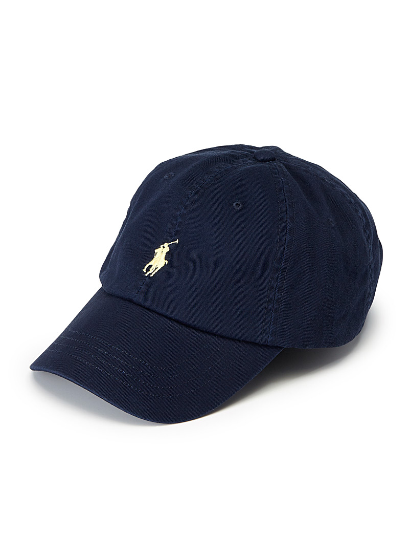 Polo Ralph Lauren Black Polo logo cap for men