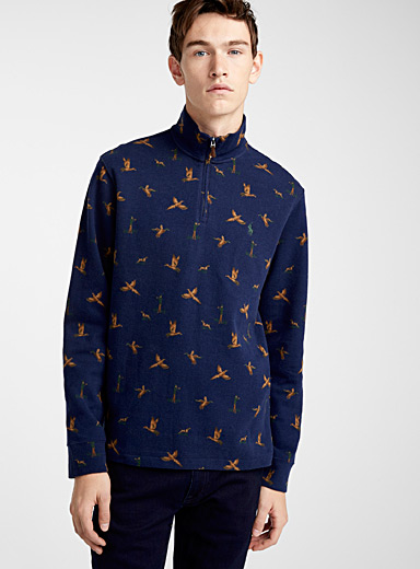 Duck hunt half-zip