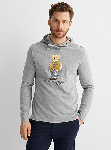 Weekend teddy bear hooded T-shirt