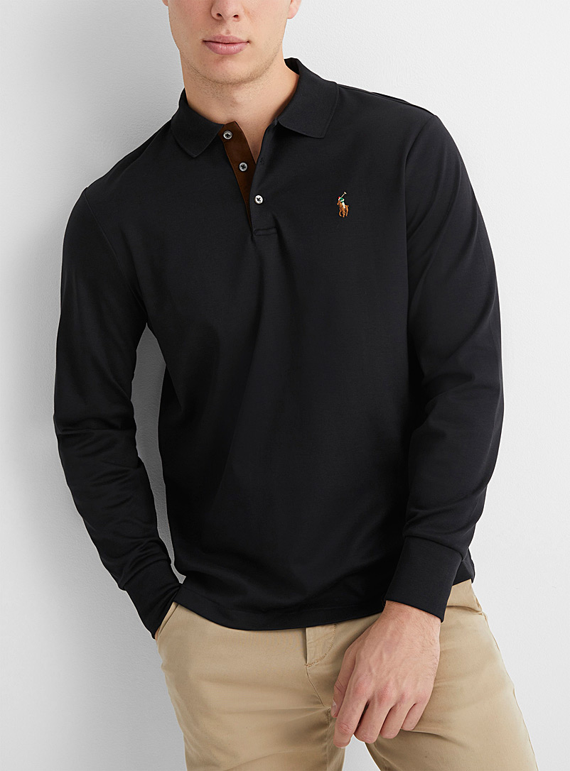 Liquid cotton signature polo
