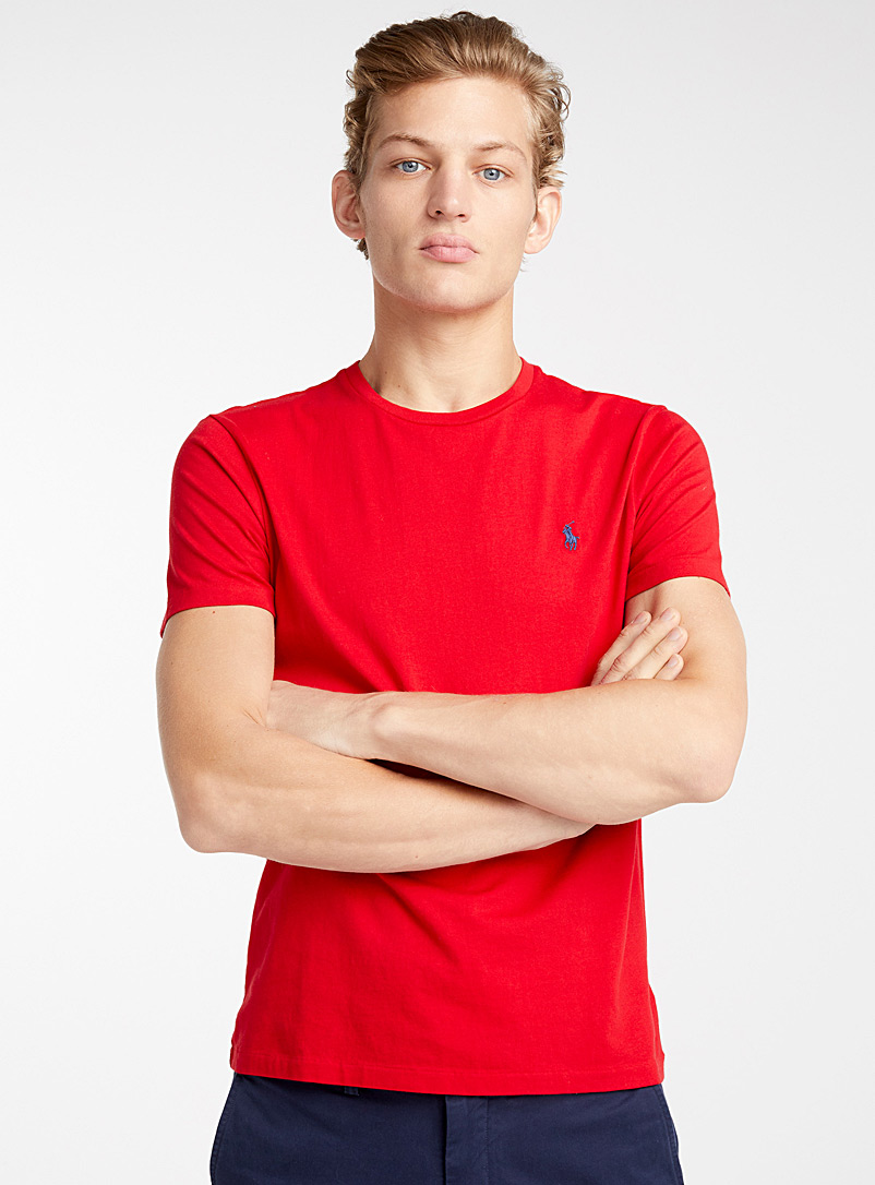 Iconic T-shirt - Logo wear - Red