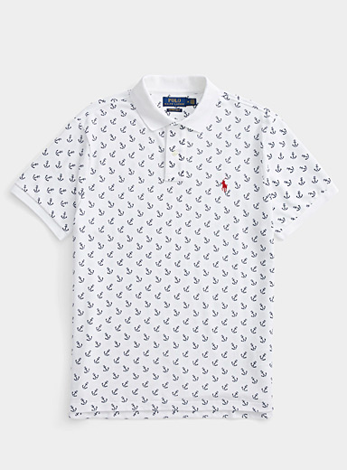 Ship's anchor polo
