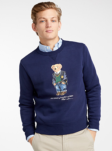 Le sweat ourson collégien