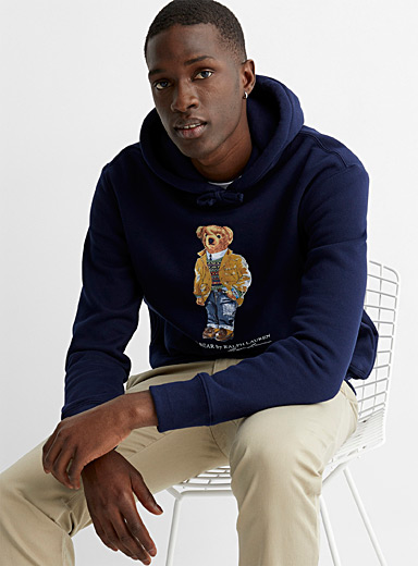 Weekend teddy bear hooded sweatshirt