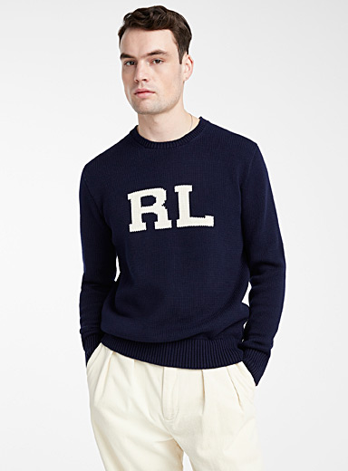 RL jacquard sweater