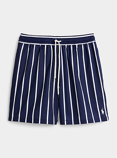 Le maillot short rayures franches