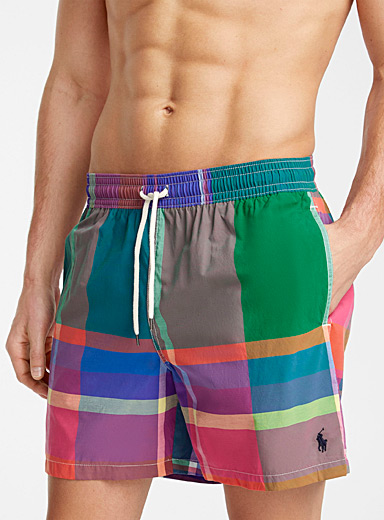 Le maillot short carreaux madras