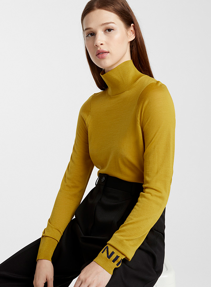 Mustard sweater - Nina Ricci - Dark Yellow