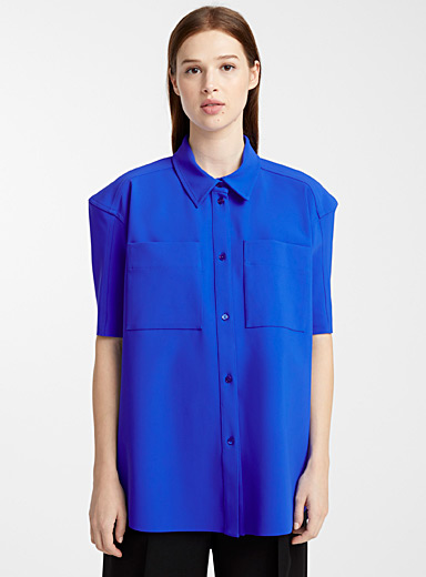 Neoprene blouse
