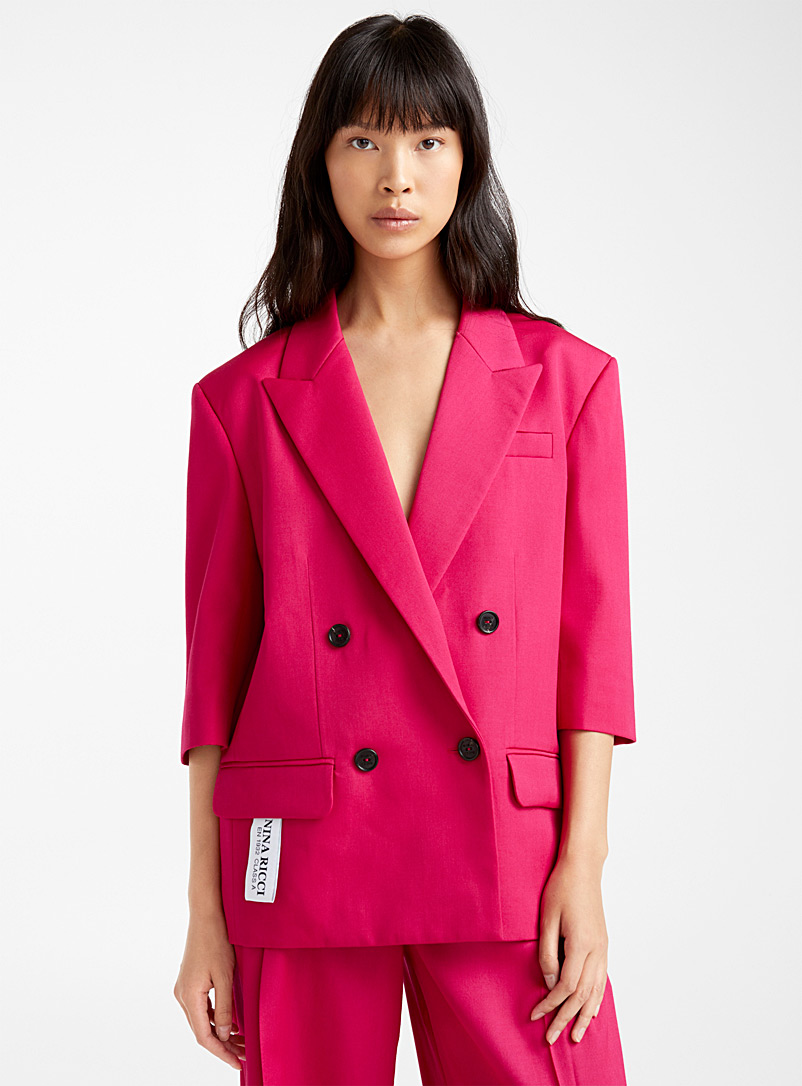 Nina Ricci Cherry Red Raspberry jacket for women