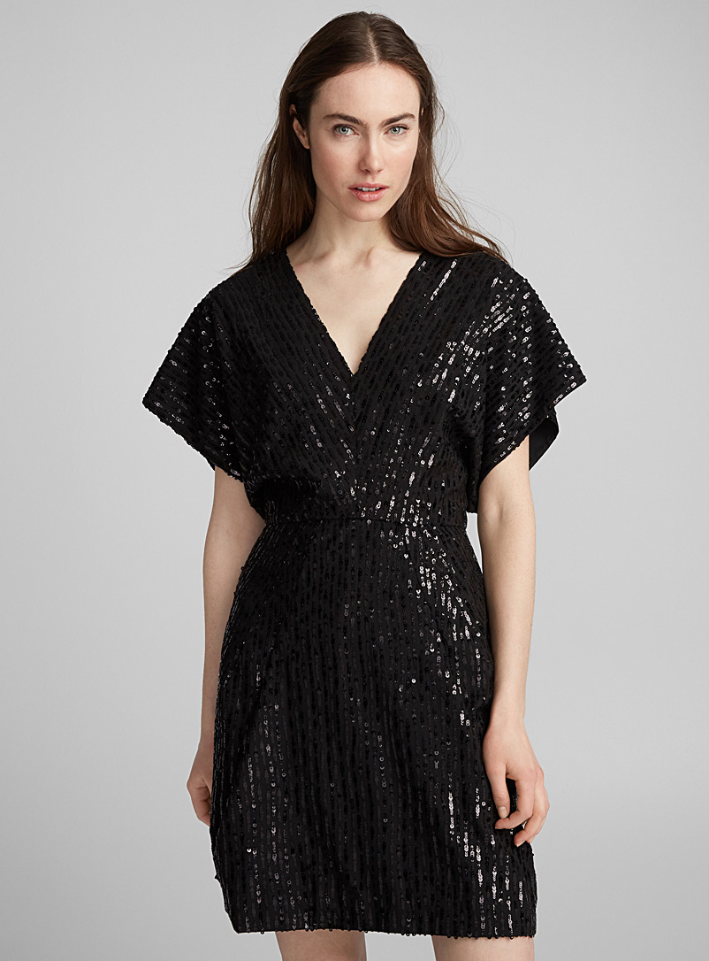Sequins dress - Nina Ricci - Black