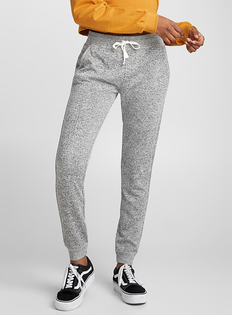 Heathered joggers - Casual - Light Grey