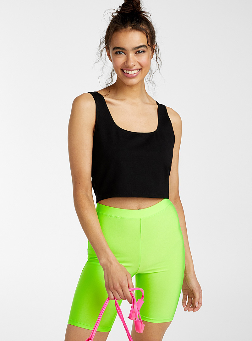 Twik Black Ultra cropped cami for women