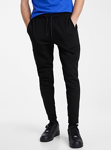 Djab Black Organic cotton ergonomic sweatpant for men