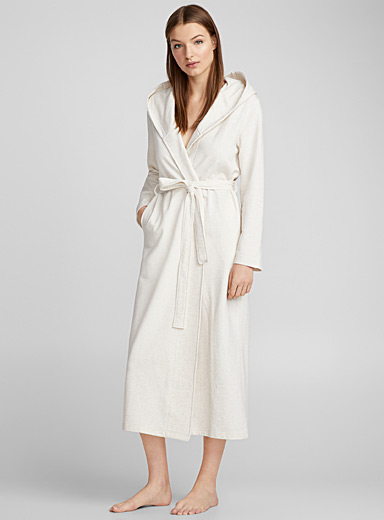 Long heather robe