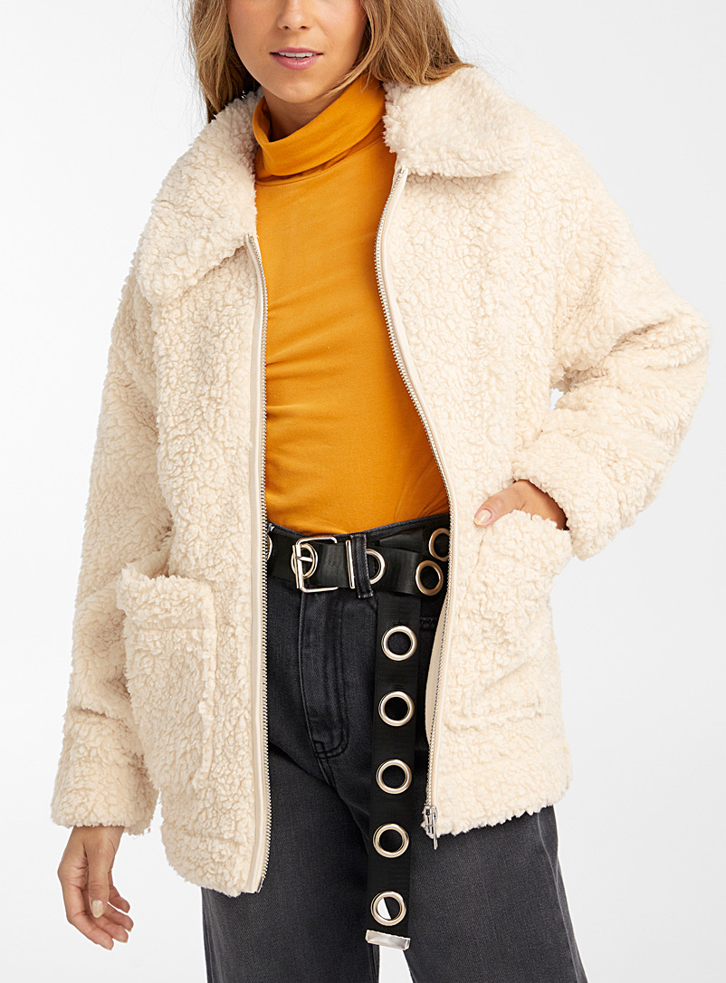 Soft sherpa jacket