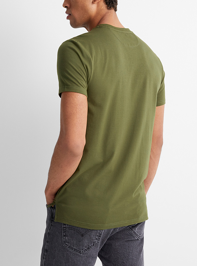 Le 31 Sand Eco-friendly muscle T-shirt for men