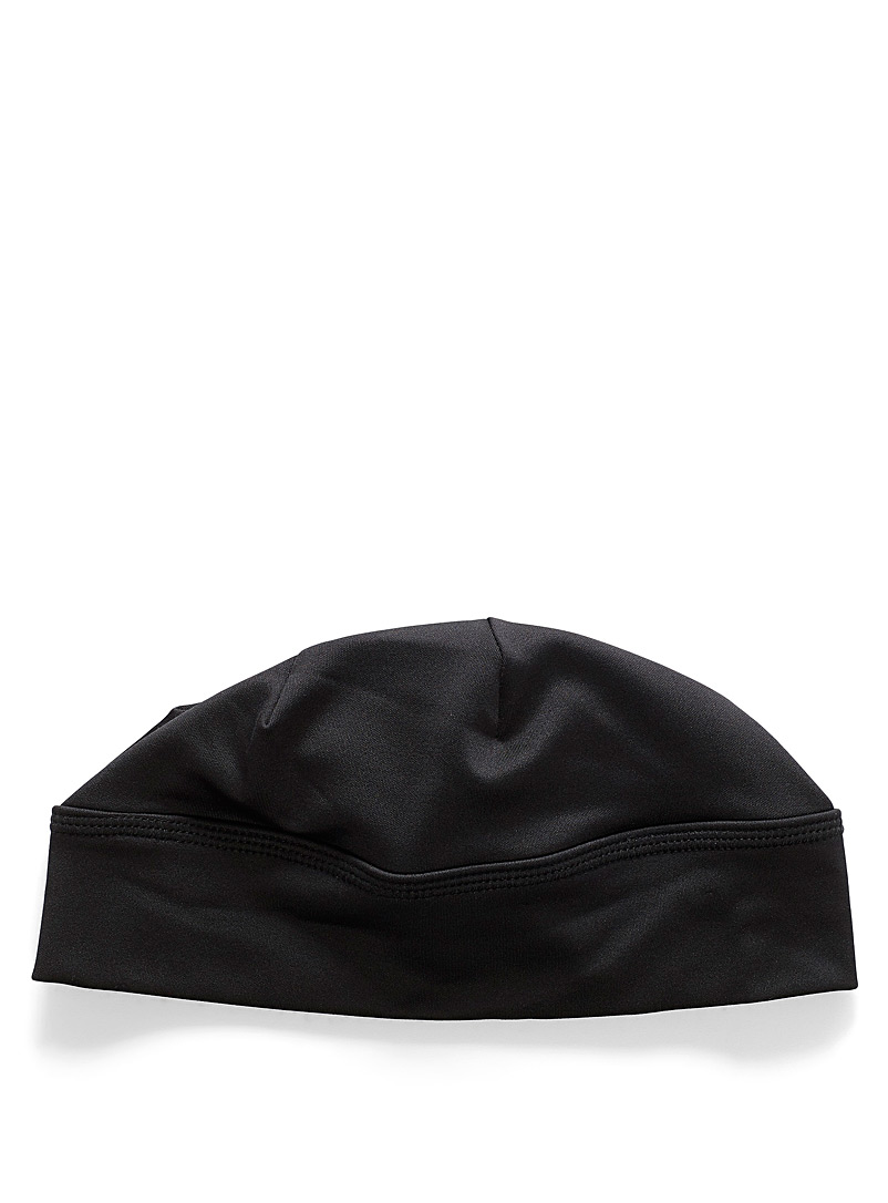 I.FIV5 Black Ponytail sport tuque for women