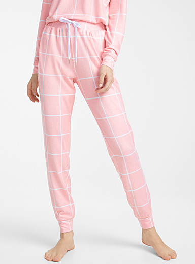 Delicate pattern joggers