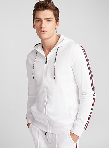Perforated track jacket