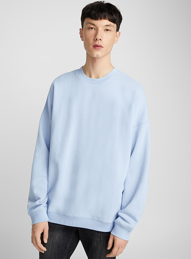 New proportions light sweatshirt - Sweatshirts & Hoodies - Blue