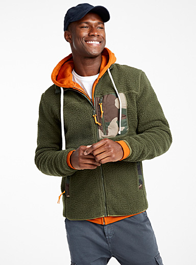 Le cardigan polaire sherpa