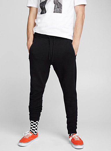 Pleated utility joggers