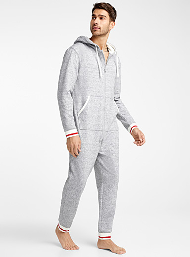 Wool sock lounge onesie