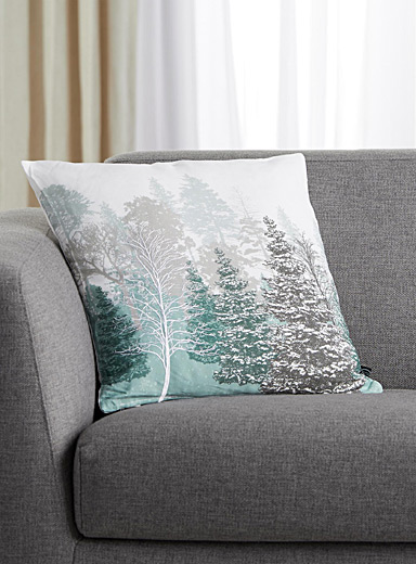 Winter forest cushion <br>45 cm x 45 cm