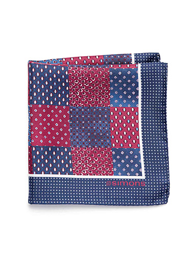 Patchwork pocket square