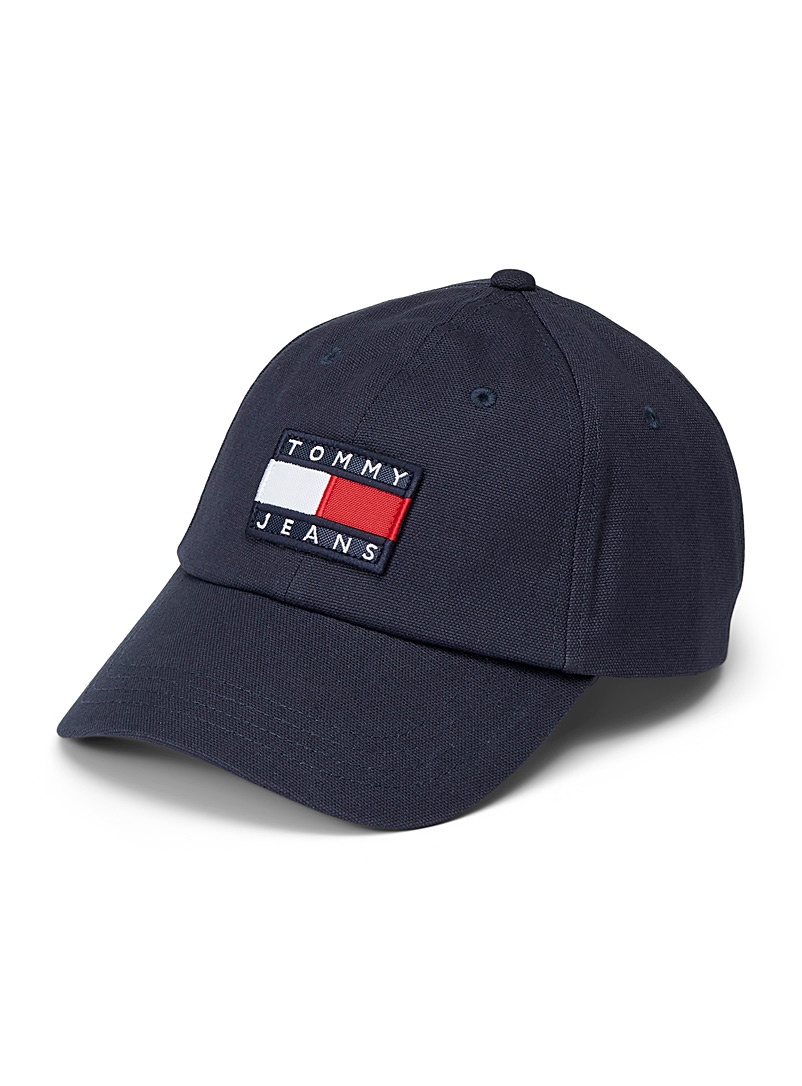 Tommy Hilfiger Marine Blue Flag logo cap for men