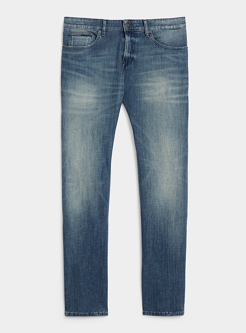 Tommy Hilfiger Dark Blue Dynamic stretch jean  Slim fit for men
